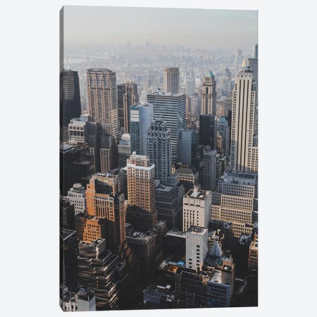 New York City I Canvas Print #GRM112} by Luke Anthony Gram Canvas Art
