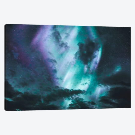 Aurora Borealis I 3-Piece Canvas #GRM11} by Luke Anthony Gram Art Print