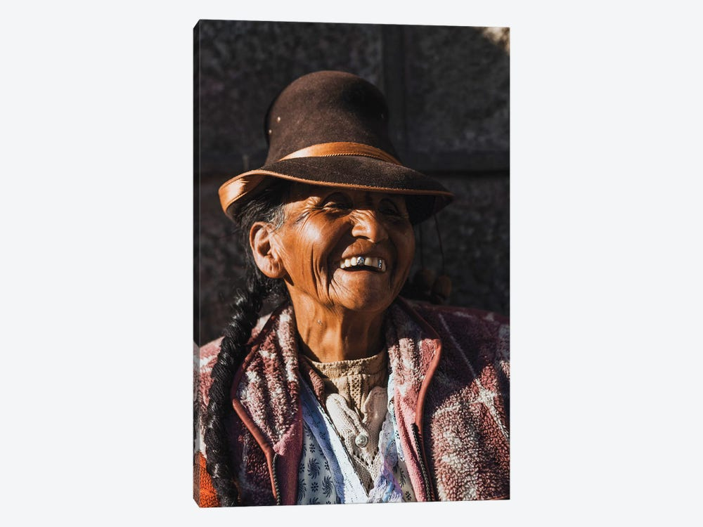 Peruvian Merchant by Luke Anthony Gram 1-piece Canvas Art Print