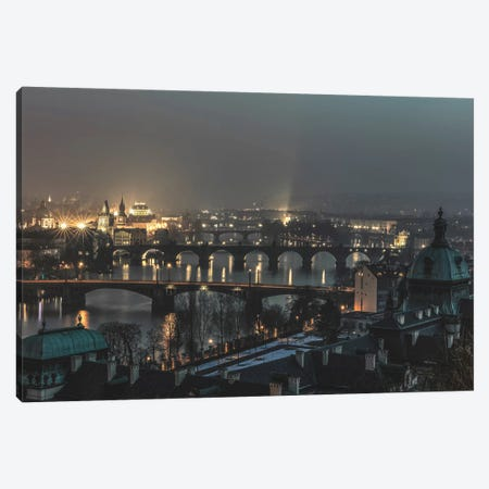 Prague, Czech Republic I Canvas Print #GRM123} by Luke Anthony Gram Canvas Print