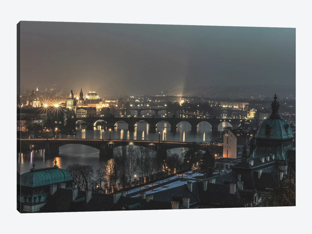 Prague, Czech Republic I by Luke Anthony Gram 1-piece Canvas Wall Art