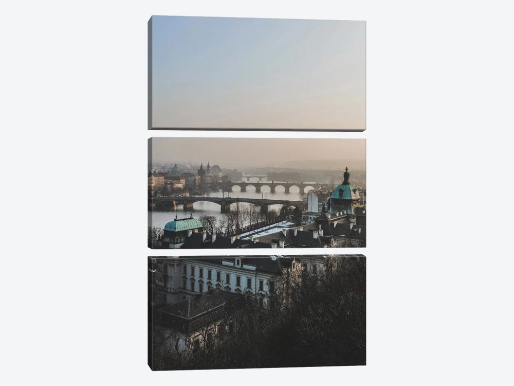 Prague, Czech Republic IV by Luke Anthony Gram 3-piece Art Print