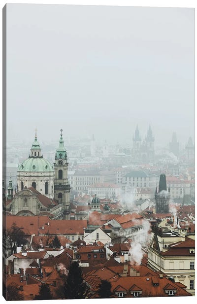 Prague, Czech Republic VI Canvas Art Print