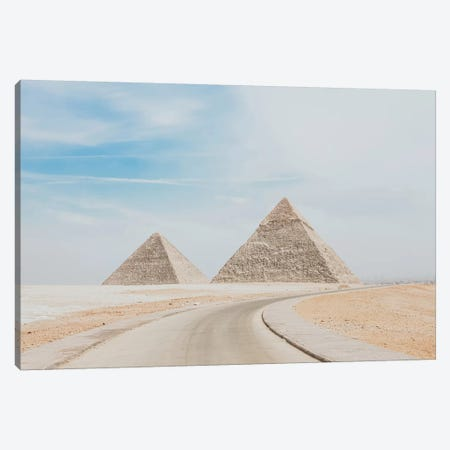 Pyramids of Egypt Canvas Print #GRM129} by Luke Anthony Gram Canvas Art Print