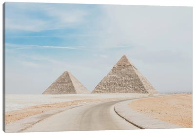 Pyramids of Egypt Canvas Art Print