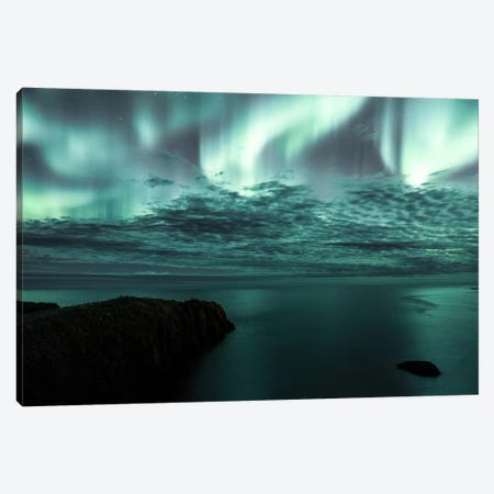 Aurora Borealis III Canvas Print #GRM12} by Luke Anthony Gram Canvas Print