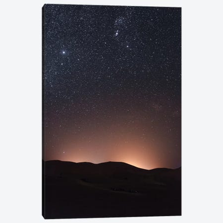 Sahara Desert At Night Canvas Print #GRM135} by Luke Anthony Gram Canvas Print