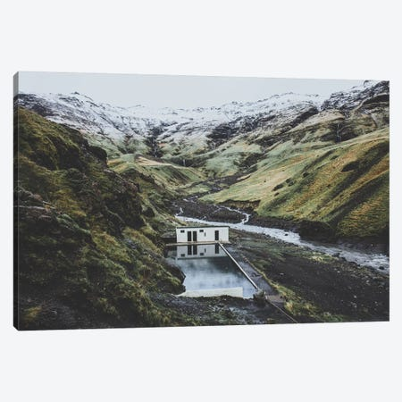 Seljavallalaug, Iceland Canvas Print #GRM136} by Luke Anthony Gram Canvas Print