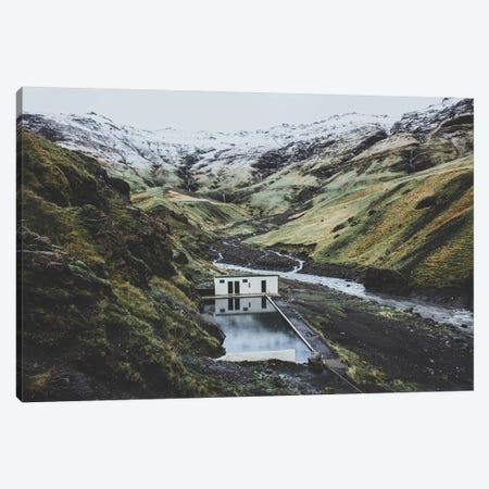 Seljavallalaug, Iceland Canvas Print #GRM136} by Luke Anthony Gram Canvas Print