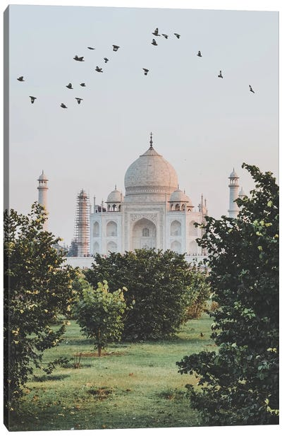 Taj Mahal, India I Canvas Art Print