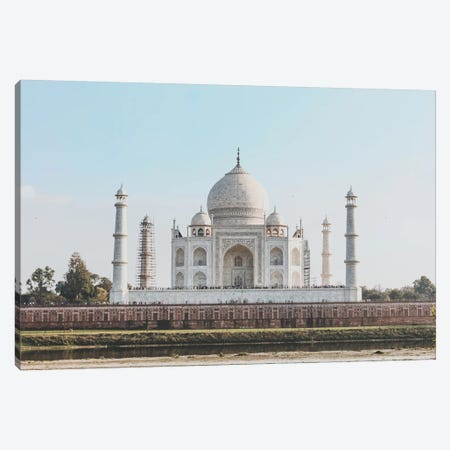 Taj Mahal, India II Canvas Print #GRM141} by Luke Anthony Gram Canvas Print