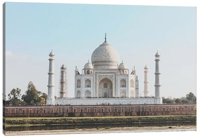 Taj Mahal, India II Canvas Art Print