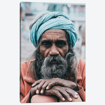 Varanasi, India Canvas Print #GRM142} by Luke Anthony Gram Art Print