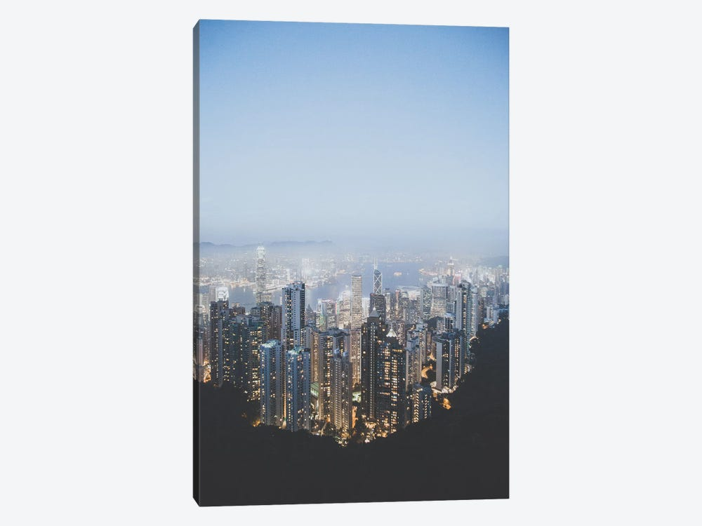 Victoria Peak, Hong Kong by Luke Anthony Gram 1-piece Canvas Artwork