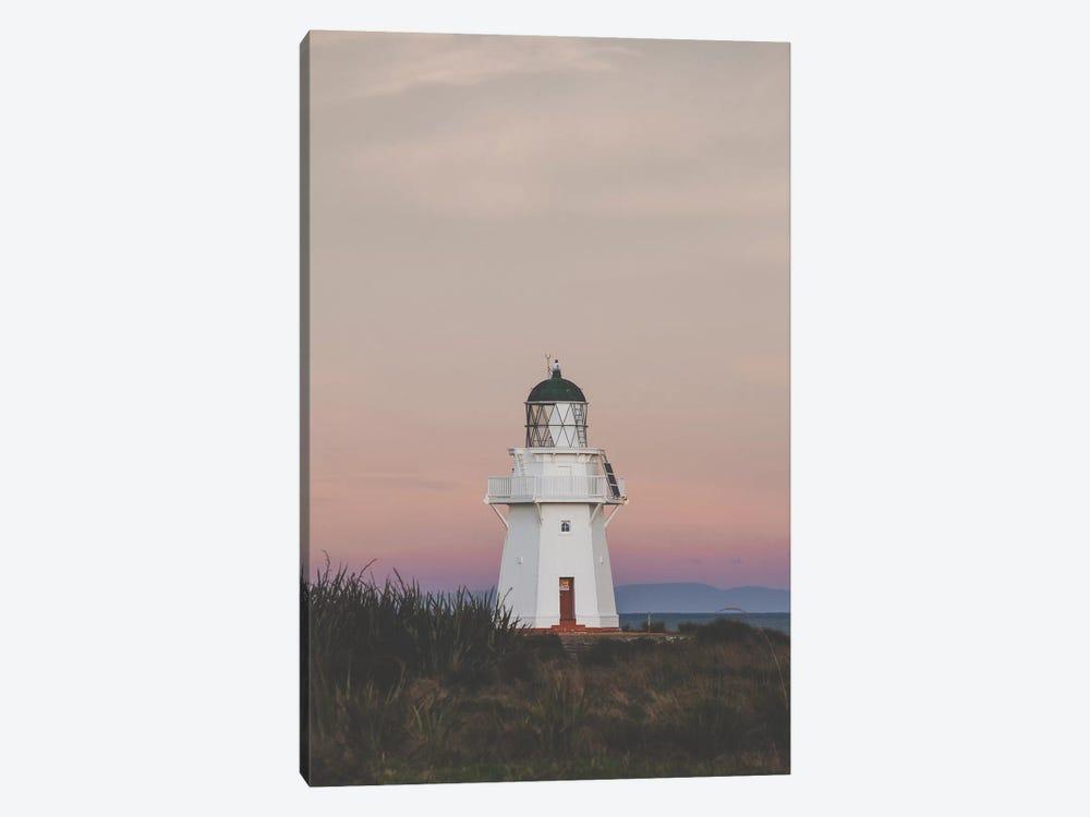 Wapapa Point Lighthouse, New Zealand by Luke Anthony Gram 1-piece Canvas Print