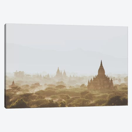 Bagan, Myanmar I Canvas Print #GRM14} by Luke Anthony Gram Canvas Wall Art