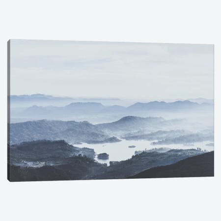 Adams Peak, Sri Lanka Canvas Print #GRM150} by Luke Anthony Gram Canvas Artwork