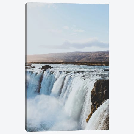 Goðafoss, Iceland Canvas Print #GRM165} by Luke Anthony Gram Canvas Art