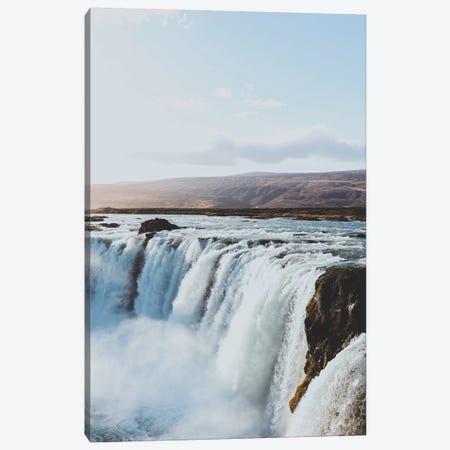 Goðafoss, Iceland Canvas Print #GRM165} by Luke Anthony Gram Canvas Art