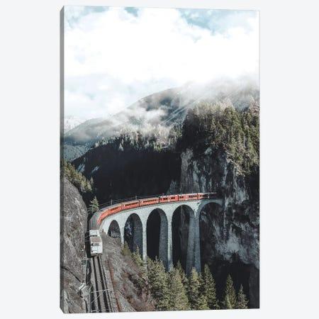 Landwasser Viaduct, Switzerland Canvas Print #GRM174} by Luke Anthony Gram Canvas Print