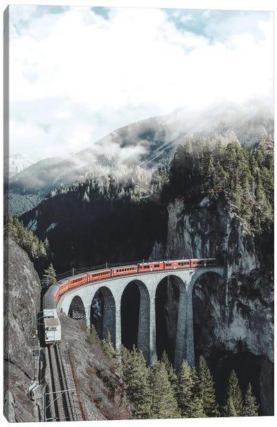 Landwasser Viaduct, Switzerland Canvas Art Print