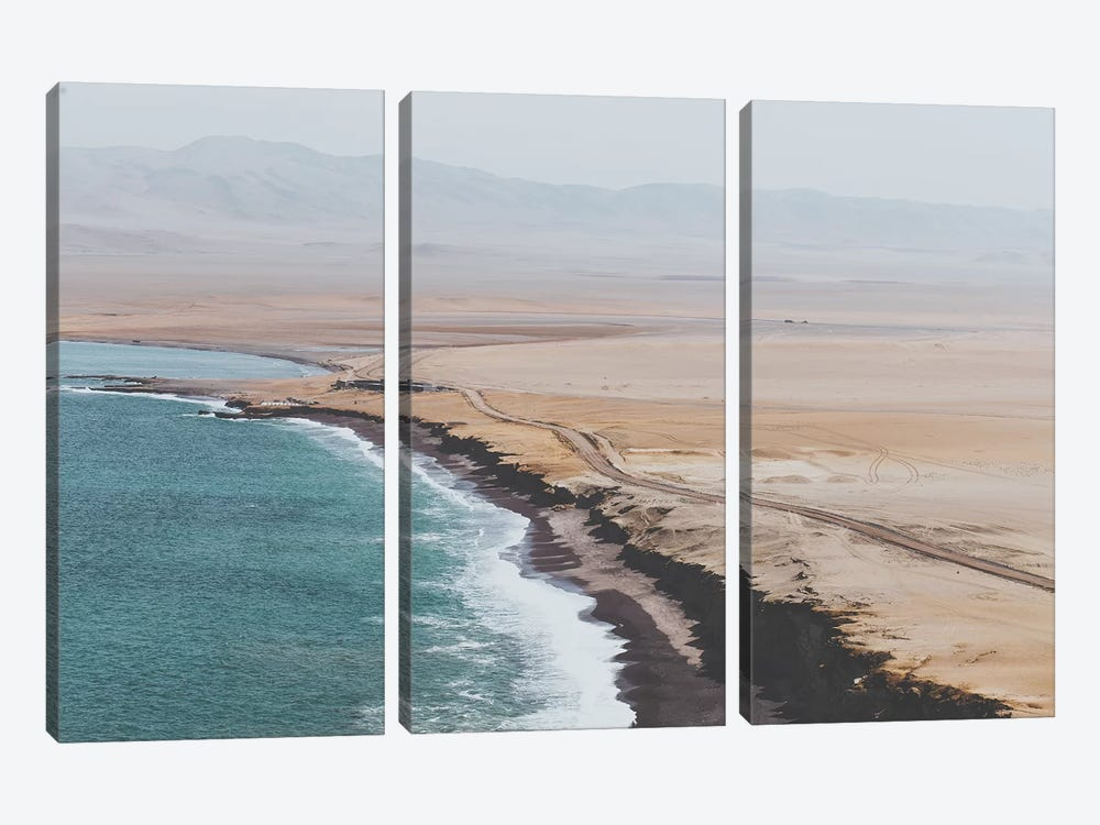 Paracas, Peru by Luke Anthony Gram 3-piece Canvas Art Print