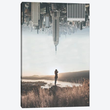 Between Earth & Sky Canvas Print #GRM18} by Luke Anthony Gram Art Print