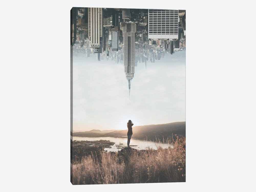 Between Earth & Sky by Luke Anthony Gram 1-piece Canvas Print