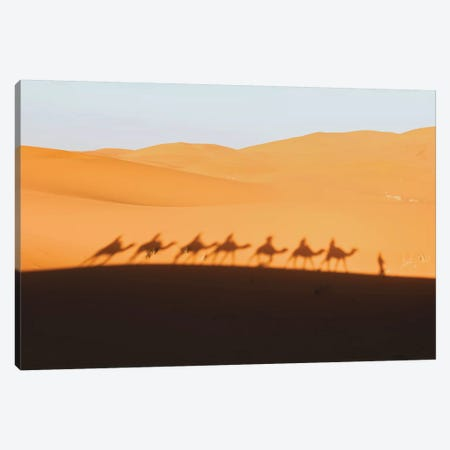 Sahara Desert, Morocco Canvas Print #GRM190} by Luke Anthony Gram Canvas Art