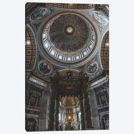 The Vatican Canvas Print #GRM195} by Luke Anthony Gram Art Print
