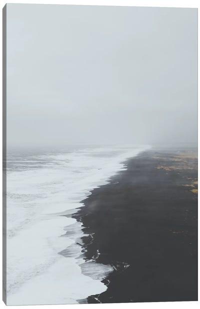 Black Sand Beach, Iceland Canvas Art Print