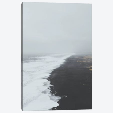 Black Sand Beach, Iceland Canvas Print #GRM19} by Luke Anthony Gram Canvas Print