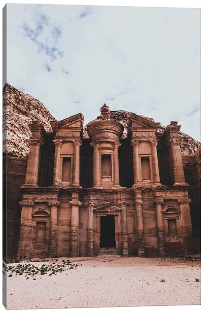 Treasury, Jordan Canvas Art Print