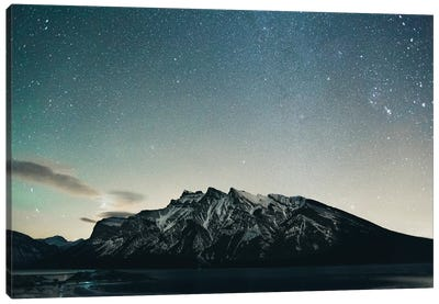 Lake Minnewanka, BC Canvas Art Print