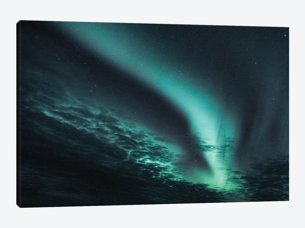 Night Sky by Luke Anthony Gram 1-piece Canvas Art Print