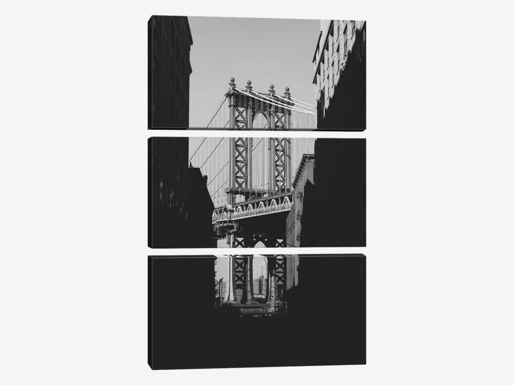Brooklyn Bridge, NYC by Luke Anthony Gram 3-piece Canvas Art