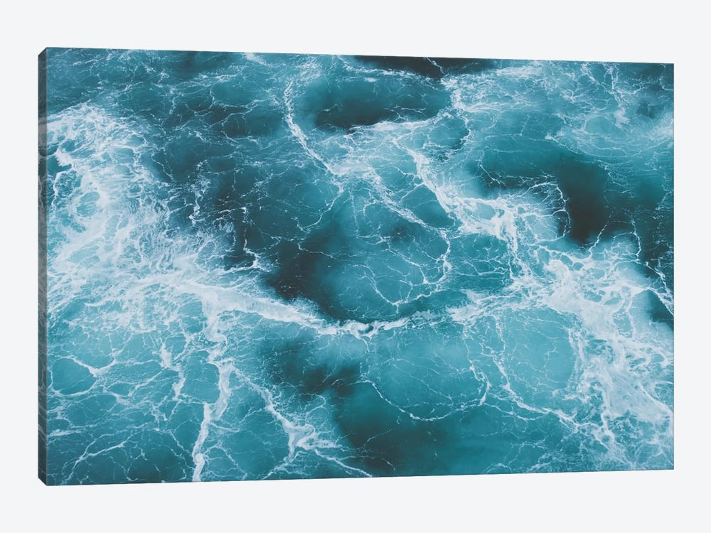 Electric Ocean by Luke Anthony Gram 1-piece Canvas Art Print