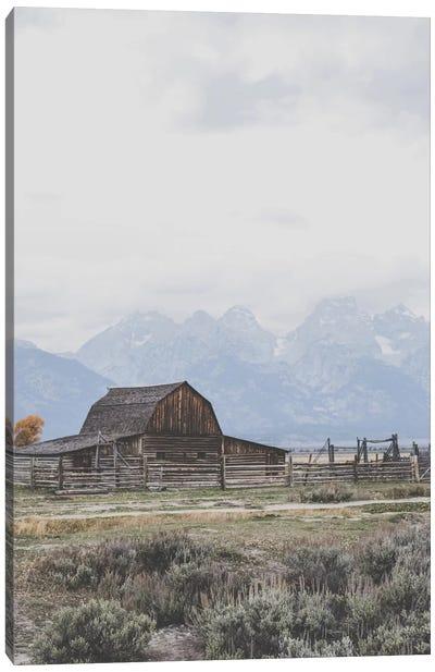 Grand Tetons, Wyoming I Canvas Art Print