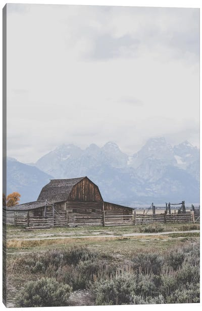 Grand Tetons, Wyoming I Canvas Art Print