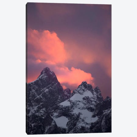 Grand Tetons, Wyoming III Canvas Print #GRM49} by Luke Anthony Gram Canvas Artwork
