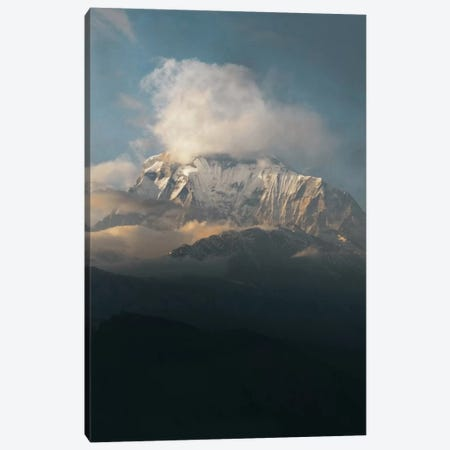 Annapurna Himalayas, Nepal I Canvas Print #GRM4} by Luke Anthony Gram Canvas Wall Art