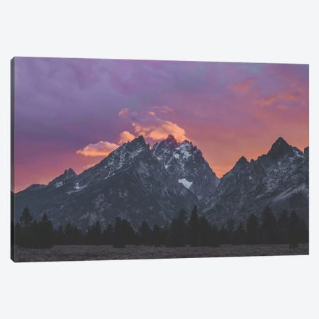 Grand Tetons, Wyoming IV Canvas Print #GRM50} by Luke Anthony Gram Canvas Print
