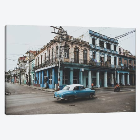 Havana, Cuba II Canvas Print #GRM57} by Luke Anthony Gram Canvas Artwork