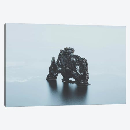 Hvítserkur, Iceland I Canvas Print #GRM64} by Luke Anthony Gram Art Print