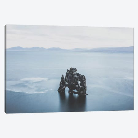 Hvítserkur, Iceland II Canvas Print #GRM65} by Luke Anthony Gram Canvas Print