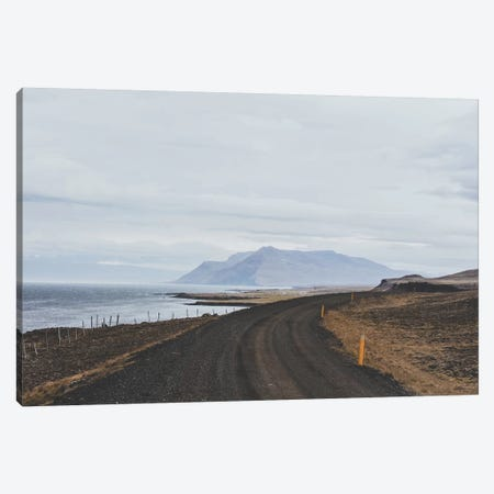 Icelandic Coastal Road Canvas Print #GRM71} by Luke Anthony Gram Art Print