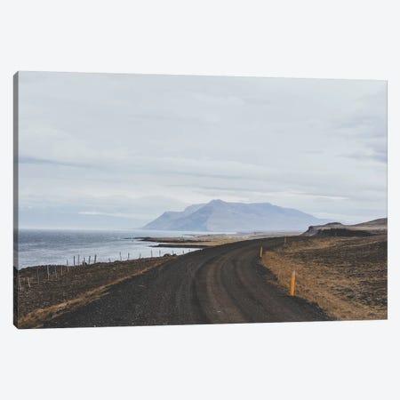 Icelandic Coastal Road Canvas Print #GRM71} by Luke Anthony Gram Art Print