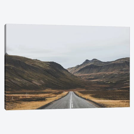 Icelandic Country Road Canvas Print #GRM72} by Luke Anthony Gram Canvas Art Print