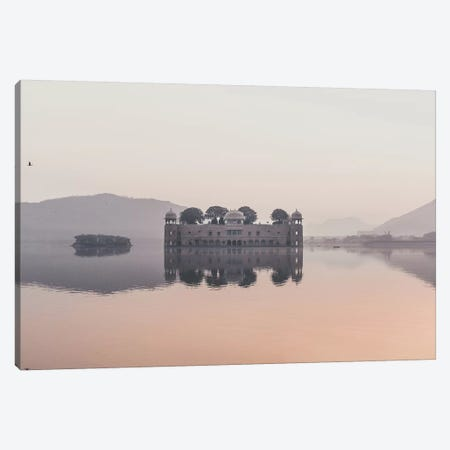 Jal Mahal, India I Canvas Print #GRM77} by Luke Anthony Gram Canvas Wall Art