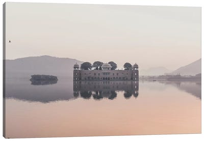 Jal Mahal, India I Canvas Art Print